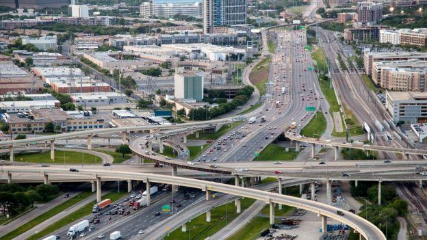Carreteras en Dallas