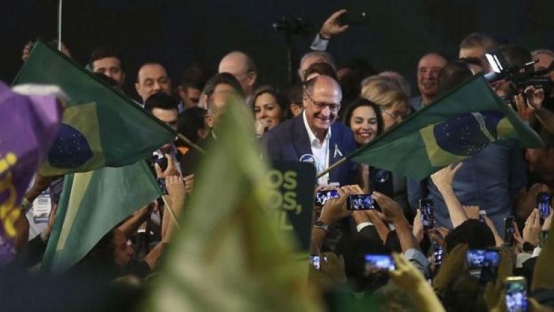 Convenção Nacional do PSDB, em Brasília, lança Geraldo Alckmin como candidato à presidência