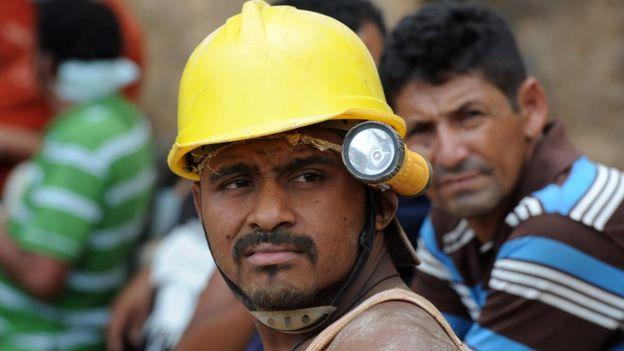 Minero en Honduras (archivo)
