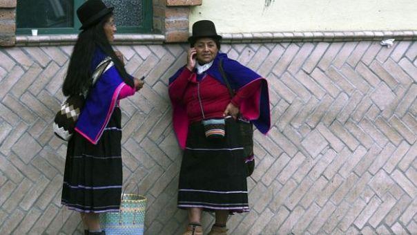 Mujer indígena colombiana