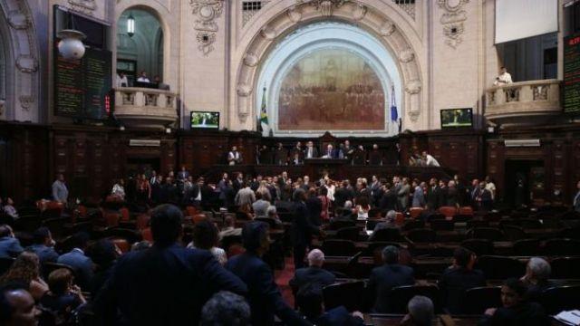 Votação da nova Mesa Diretora na Alerj