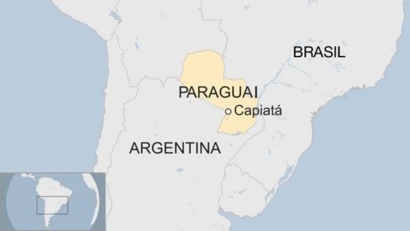 Mapa de Capiatá