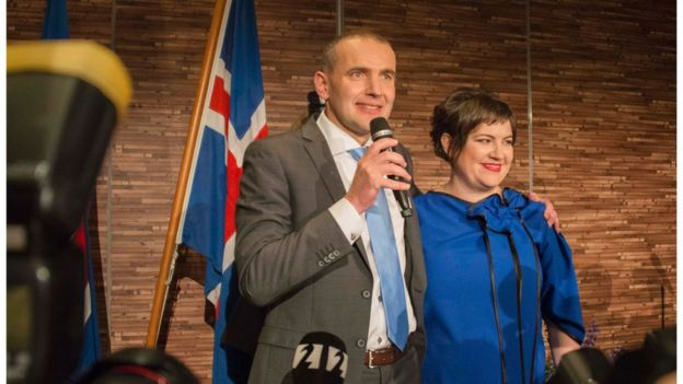 Icelandic President-elect Gudni Johannesson