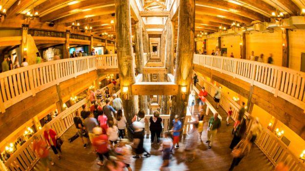 El interior del arca
