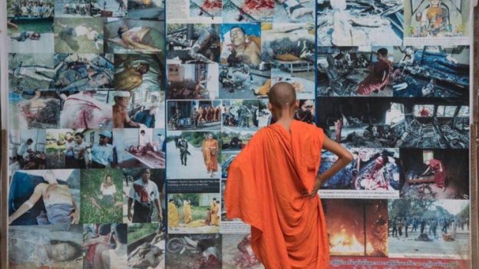 Wirathu ayaa soo bandhigay sawirro muujinayo dhibaatada loo geystay muslimiinta dalkaas