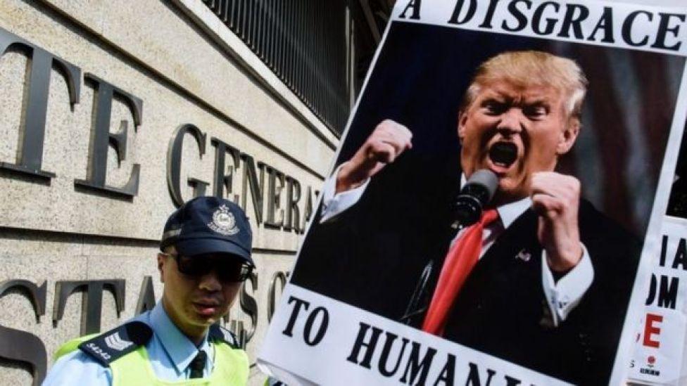 اعتراضات به فرمان اجرایی ترامپ