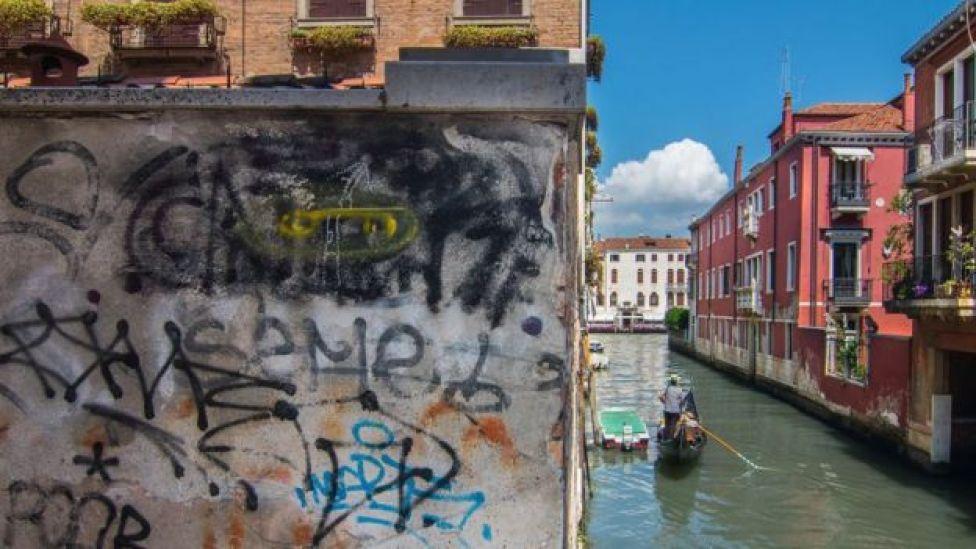 Canal en Venecia