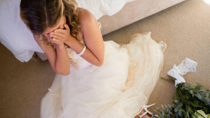 Mulheres que se casaram e por alguns motivos seu casamento foi terrível