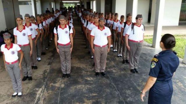 Escola militar em Roraima
