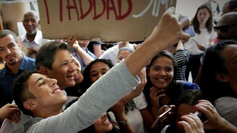 Haddad em campanha