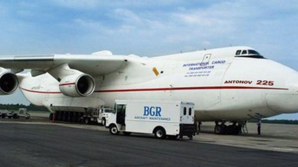 Un Antonov 225 en Bangor
