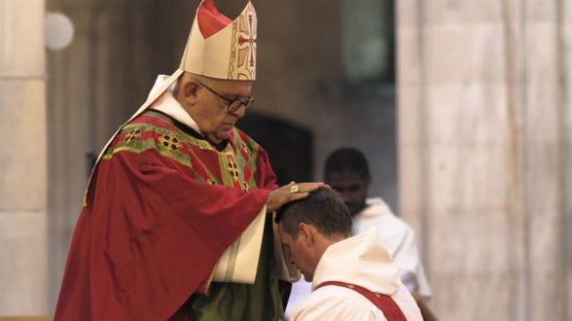 Philip Mulryne was ordained by Archbishop Joseph Augustine Di Noia