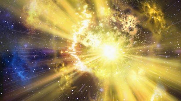 An illustration of a supernova