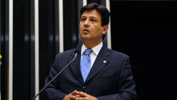 Luiz Henrique Mandetta no plenário da Câmara