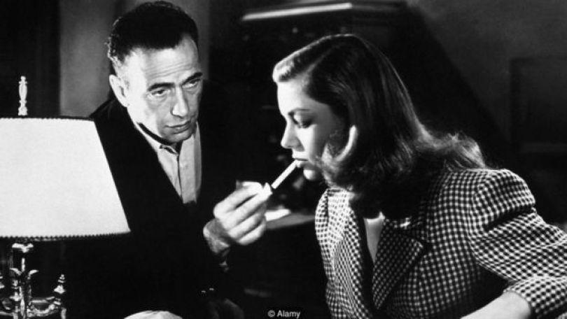 'Uma Aventura na Martinica': Humphrey Bogart e Lauren Bacall
