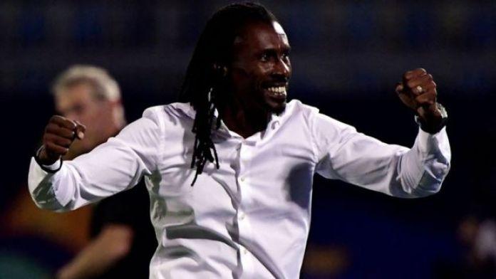 Aliou Cissé, coach du Sénégal.