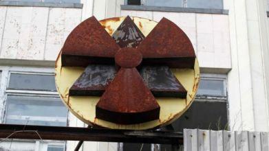 Edificio en la zona de exclusión de Chernóbil