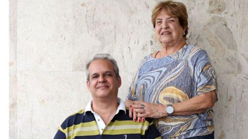 Leonardo Cunha dos Santos (bisneto do Zélio) e Lygia Maria Marinho da Cunha (neta de Zélio)