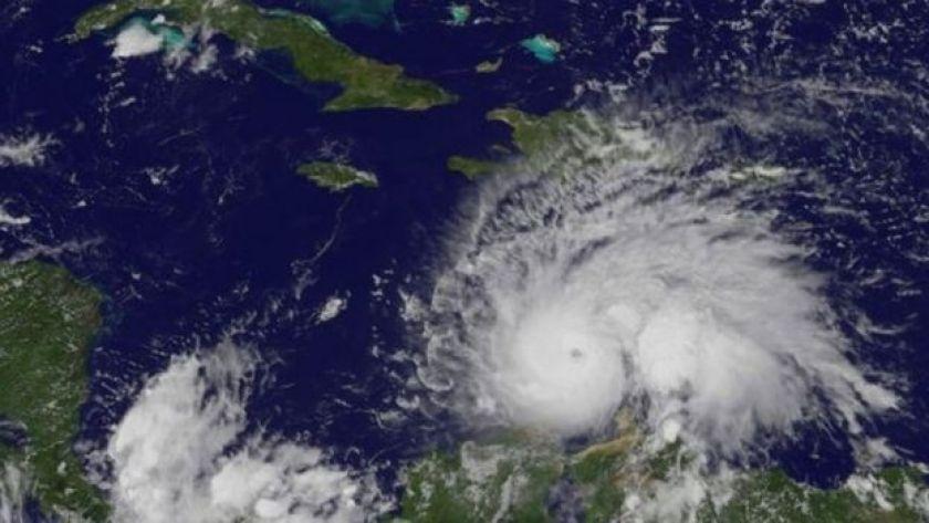 Hurricane Matthew in the Caribbean Sea (30 September 2016)
