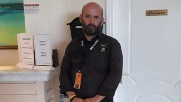 Hotel security guard