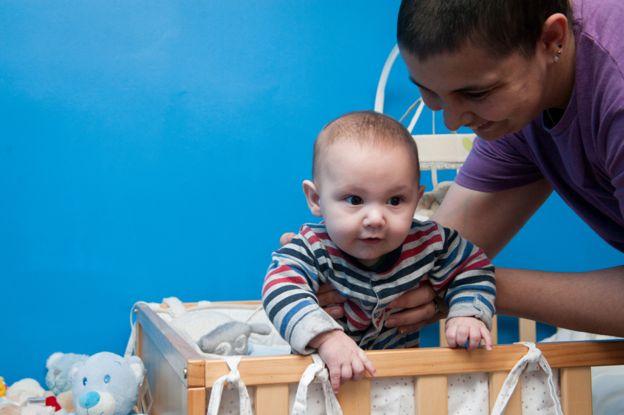 Kaiden nació seis semanas antes de que el embarazo llegara a término.