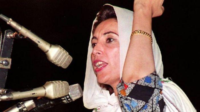 Benazir Bhutto, representante del Partido del Pueblo de Pakistán (PPP), en 1993.