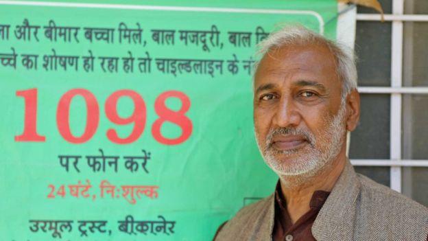 Arvind Ojha, líder da organização Urmul Trust.