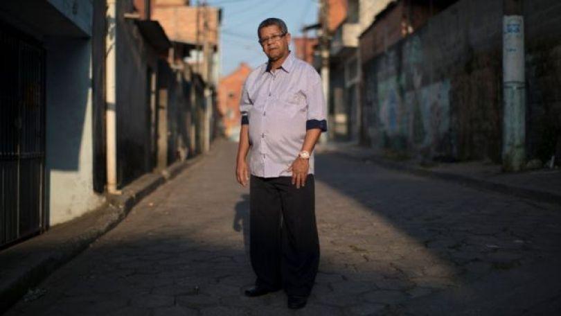 Valmir do Nascimento, cunhado do desaparecido Teodomiro Bernardo dos Santos, que deixou o hospital onde fazia tratamento e nunca mais foi visto