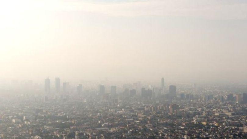 Imagem aérea da Cidade do México