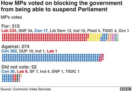 Image result for parliament suspension vote