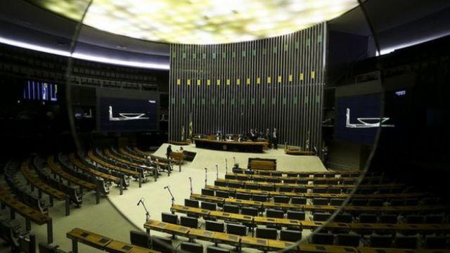 Plenário da Câmara em setembro de 2017