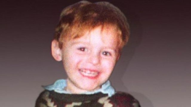 James Bulger, menino de 2 anos assassinado e morto em 1993