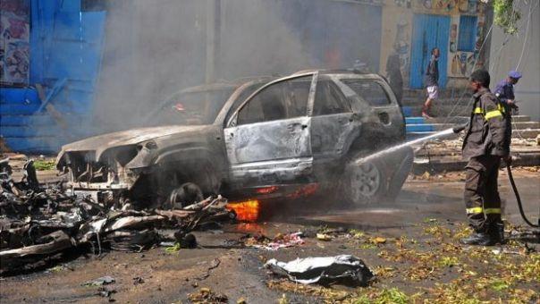 Carro bomba en Mogadiscio