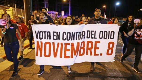 Protesta contra Arpaio en Maricopa