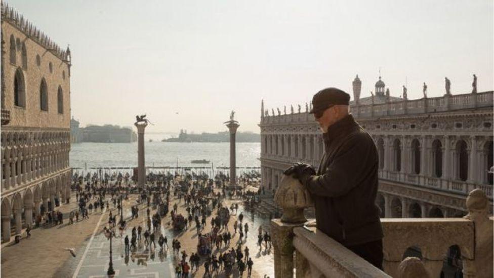 Plaza de San Marco, Venecia.