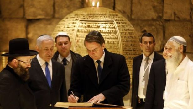 Bolsonaro em Jerusalém