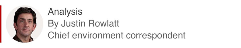 Analysis box by Justin Rowlatt, chief environment correspondent