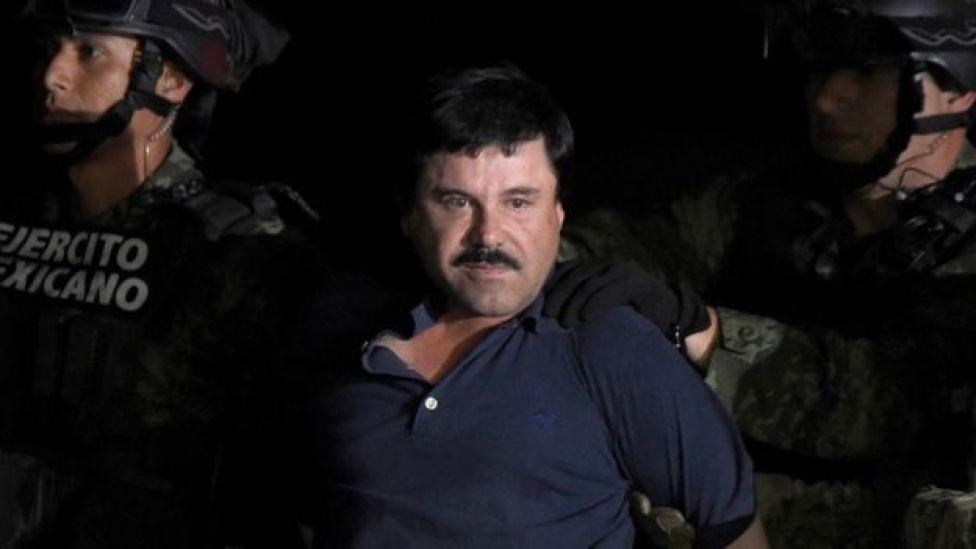 """Joaquín """"El Chapo"""" Guzmán arrestado por miembros del ejército mexicano"""