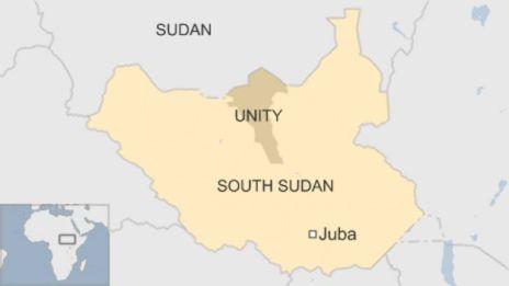 Jimbo la Unity, Sudan Kusini