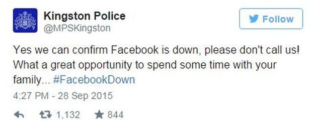 Kingston Police tweet