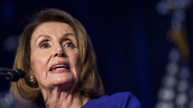 Nancy Pelosi, líder de los demócratas en la Cámara de Representantes