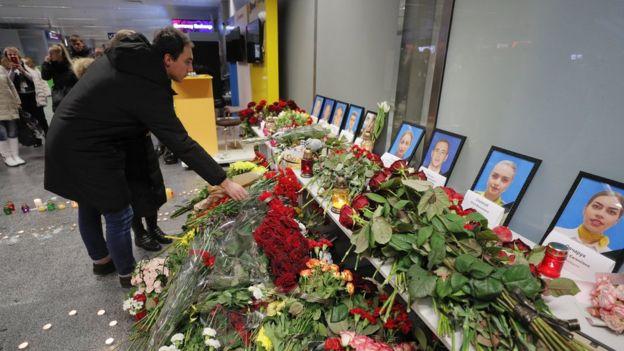 Memorial at Kyiv's Boryspil International Airport