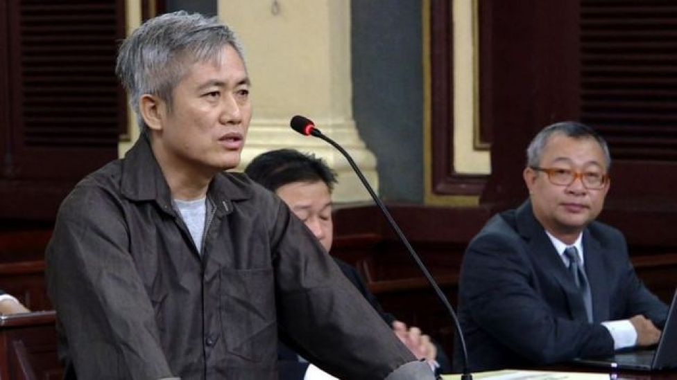 Ông Lưu Văn Vịnh, chủ tịch Liên minh Dân tộc tự quyết, bị y án 15 năm tù giam