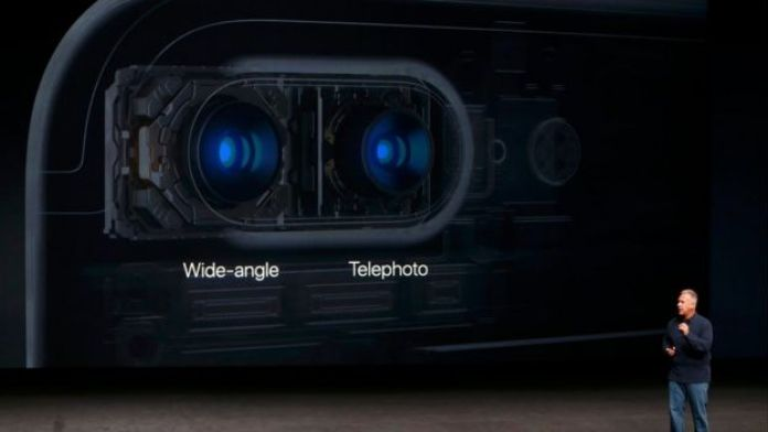 Doble cámara del iPhone 7