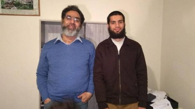 Naeem Rashid and Talha Rashid