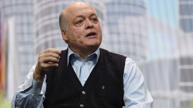 New boss Jim Hackett wants Ford to make fewer petrol engine cars