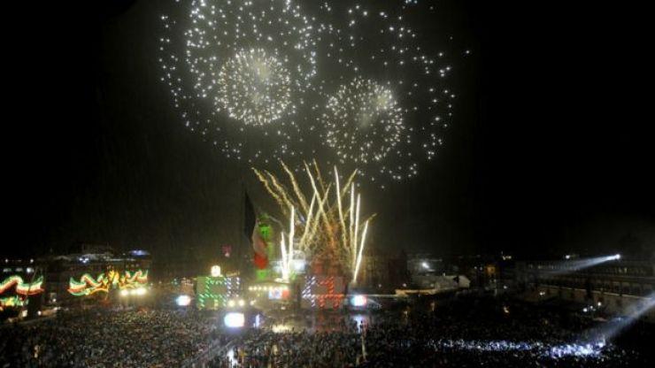 Fiesta de independencia en México.