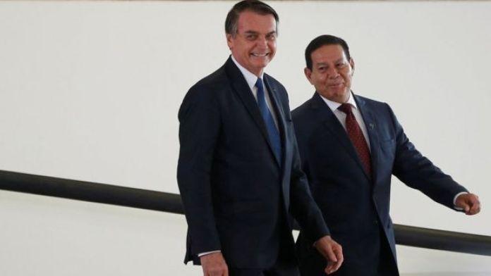 Jair Bolsonaro e Mourão