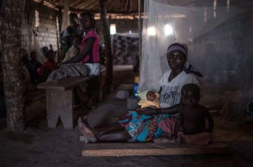 mama na watoto wakimbizi DRC