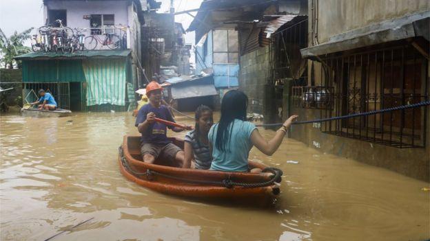 فيضانات في الشوارع